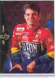 1995 SP #JG1 Jeff Gordon Promo