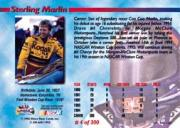 1995 Maxx Premier Series #4 Sterling Marlin