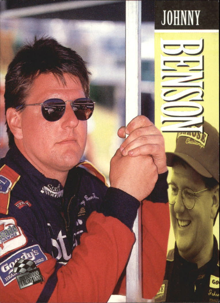 1995 Press Pass #55 Johnny Benson Jr.