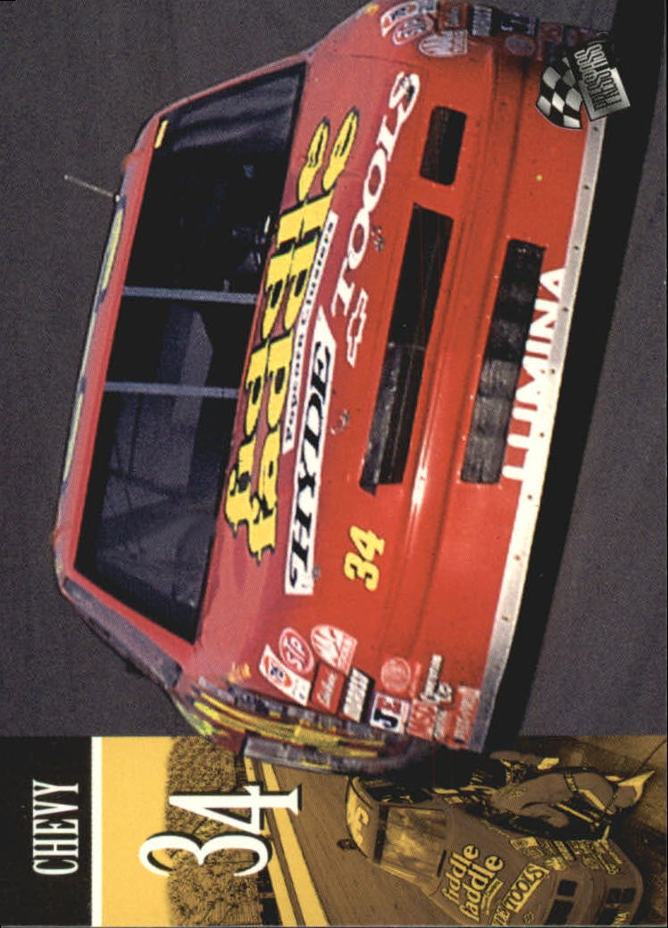1995 Press Pass #77 Mike McLaughlin's Car