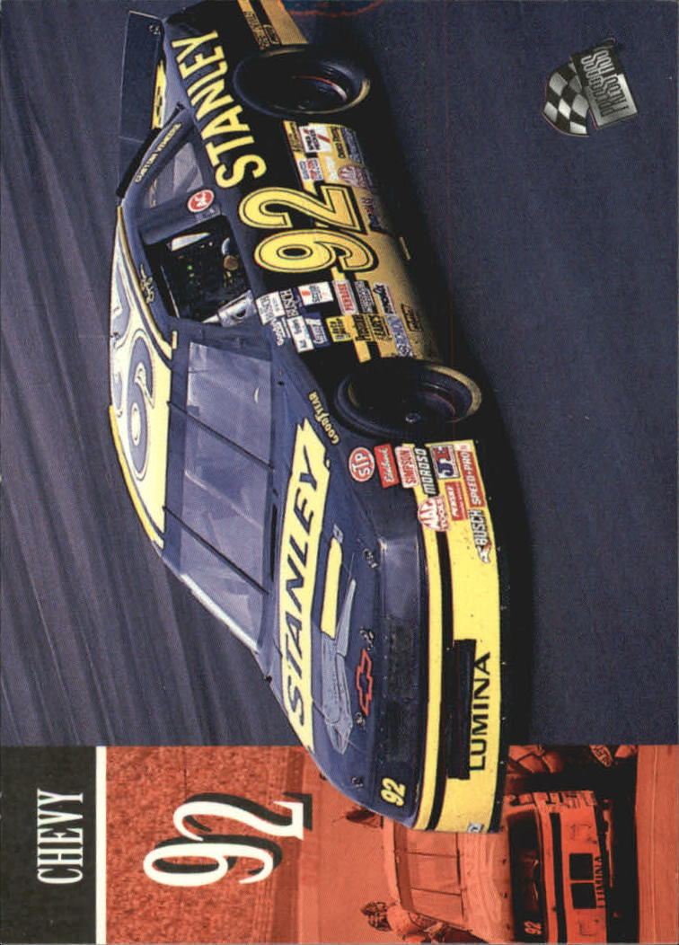 1995 Press Pass #80 Larry Pearson's Car