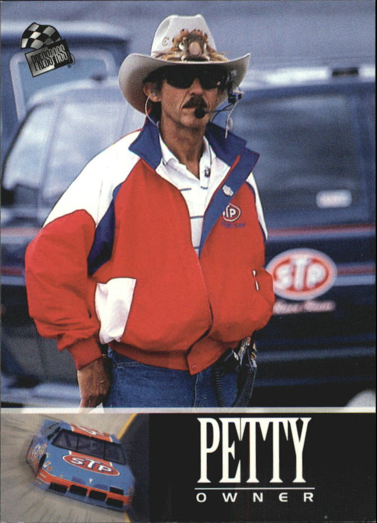 1995 Press Pass #86 Richard Petty