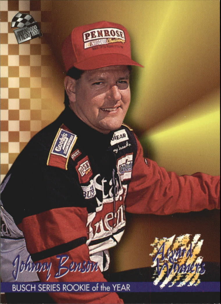 1995 Press Pass #113 Johnny Benson AW