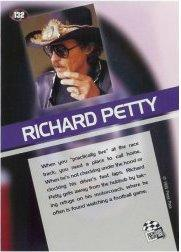 1995 Press Pass #132 Richard Petty PR back image