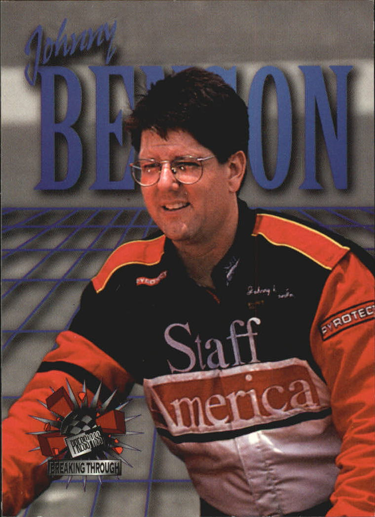 1995 Press Pass #139 Johnny Benson BT