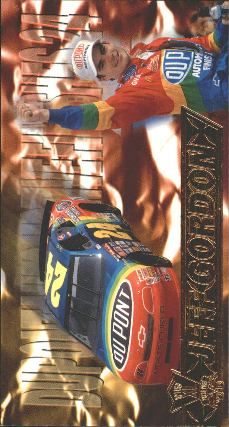 1995 Press Pass Optima XL #8 Jeff Gordon