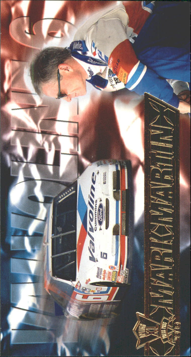 1995 Press Pass Optima XL #14 Mark Martin