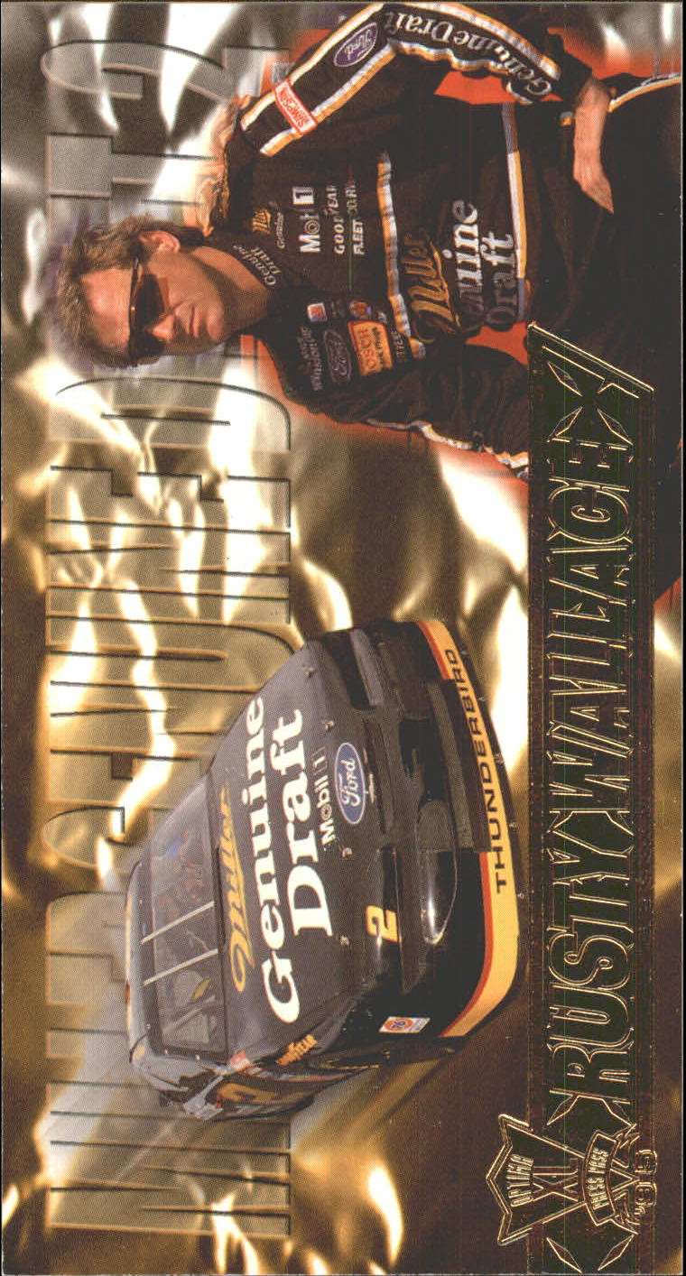 1995 Press Pass Optima XL #22 Rusty Wallace