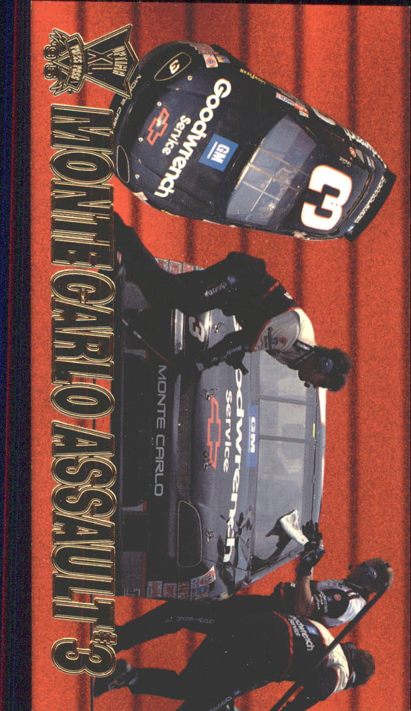 1995 Press Pass Optima XL #51 Dale Earnhardt's Car