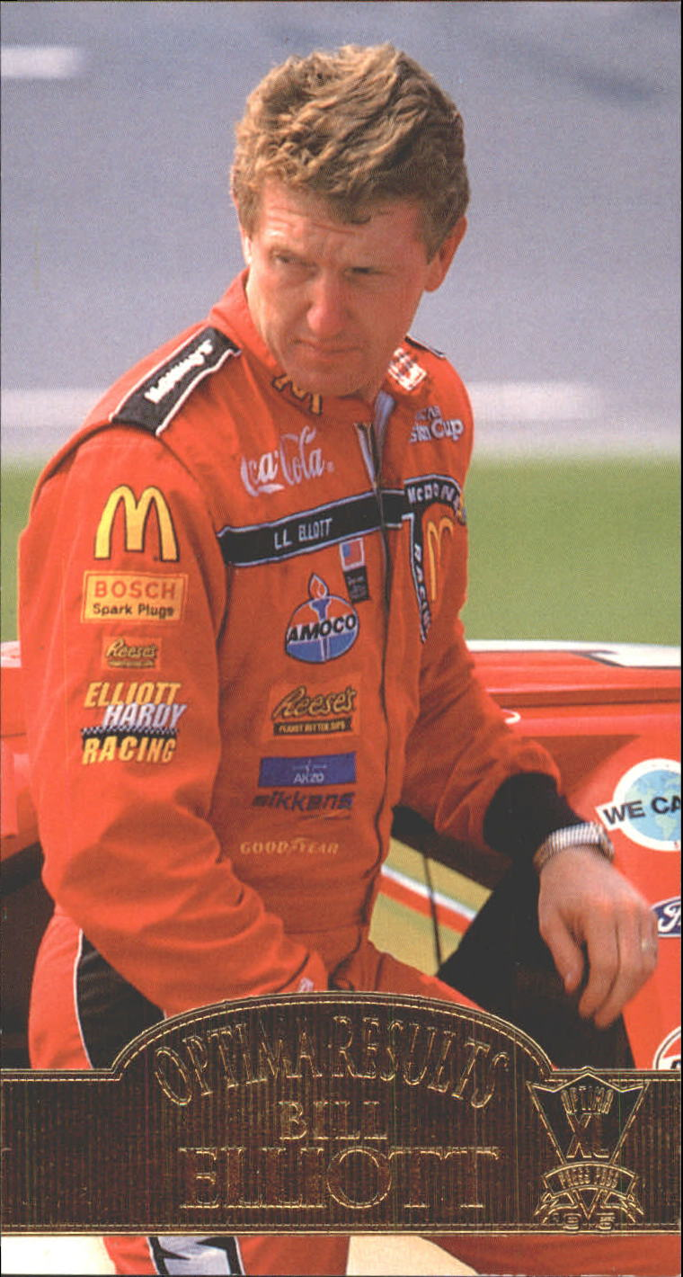 1995 Press Pass Optima XL #55 Bill Elliott OR