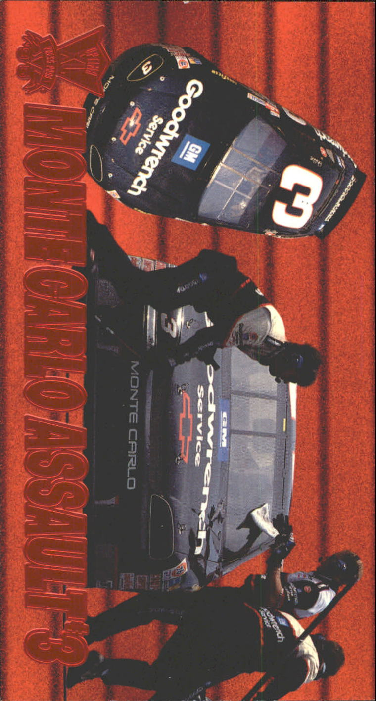 1995 Press Pass Optima XL Red Hot #51 Dale Earnhardt's Car