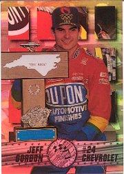 1995 Press Pass Premium Holofoil #8 Jeff Gordon