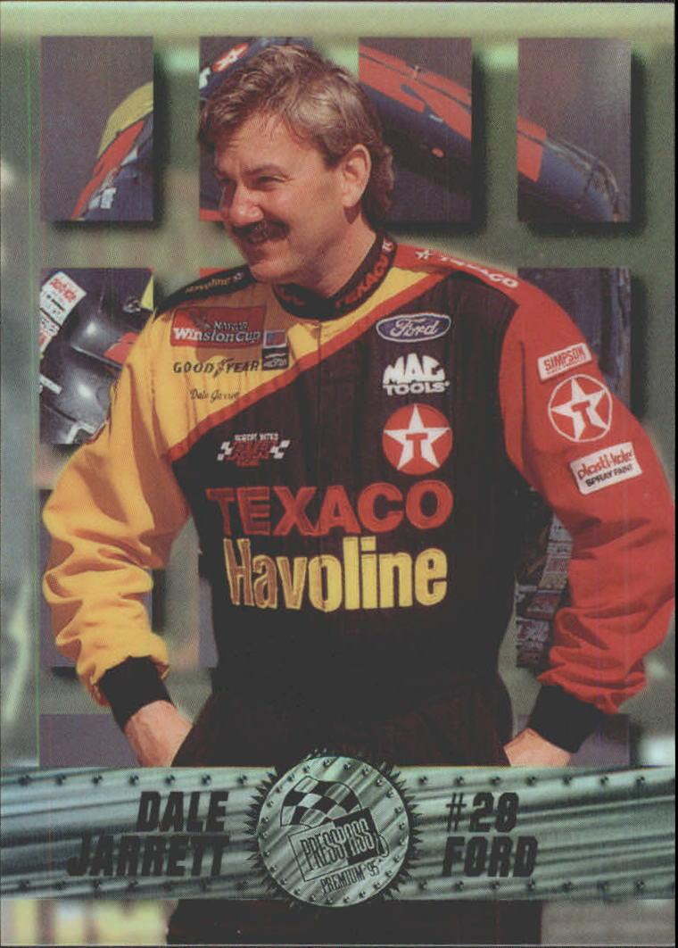 1995 Press Pass Premium Holofoil #14 Dale Jarrett