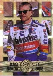 1995 Press Pass Premium Holofoil #30 Mark Martin