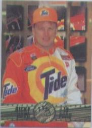 1995 Press Pass Premium Holofoil #32 Ricky Rudd
