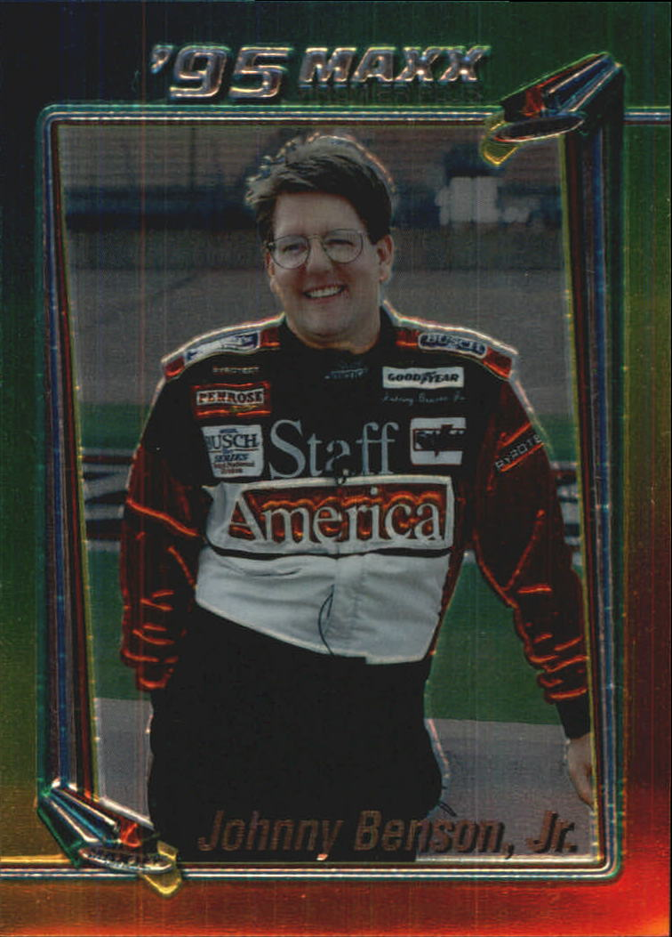 1995 Maxx Premier Plus #140 Johnny Benson Jr.