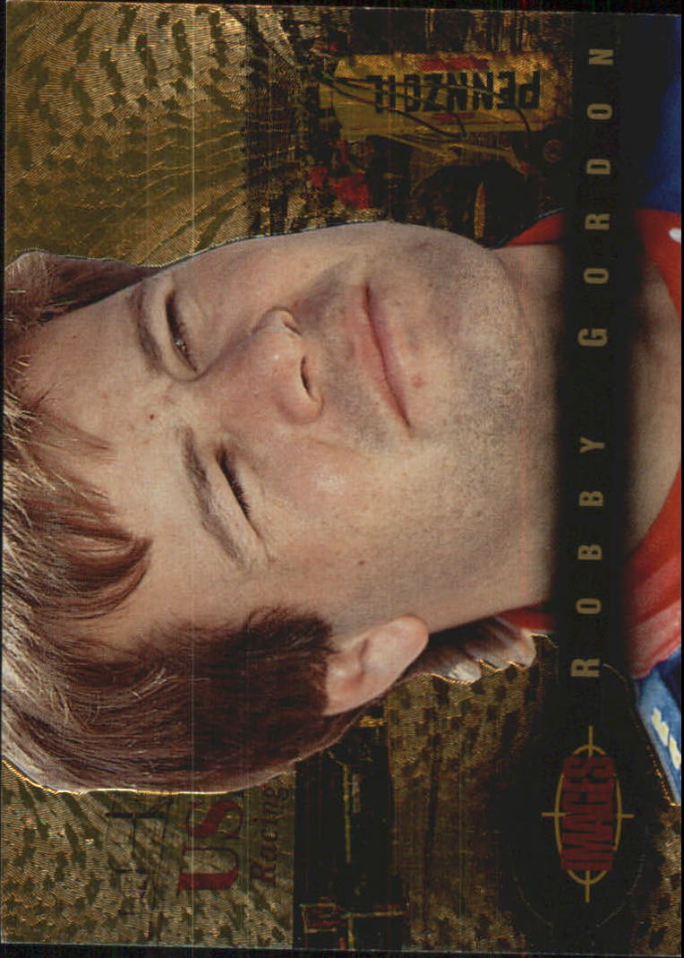 1995 Images Gold #85 Robby Gordon
