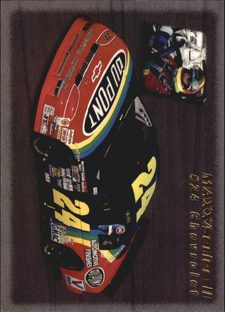 1995 Maxx #237 Jeff Gordon's Car