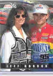 1995 Finish Line Silver #24 Jeff Gordon/Brooke Sealy