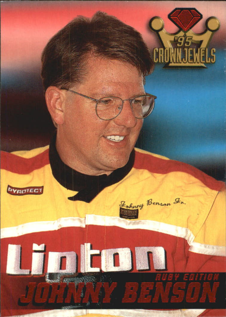 1995 Crown Jewels #56 Johnny Benson