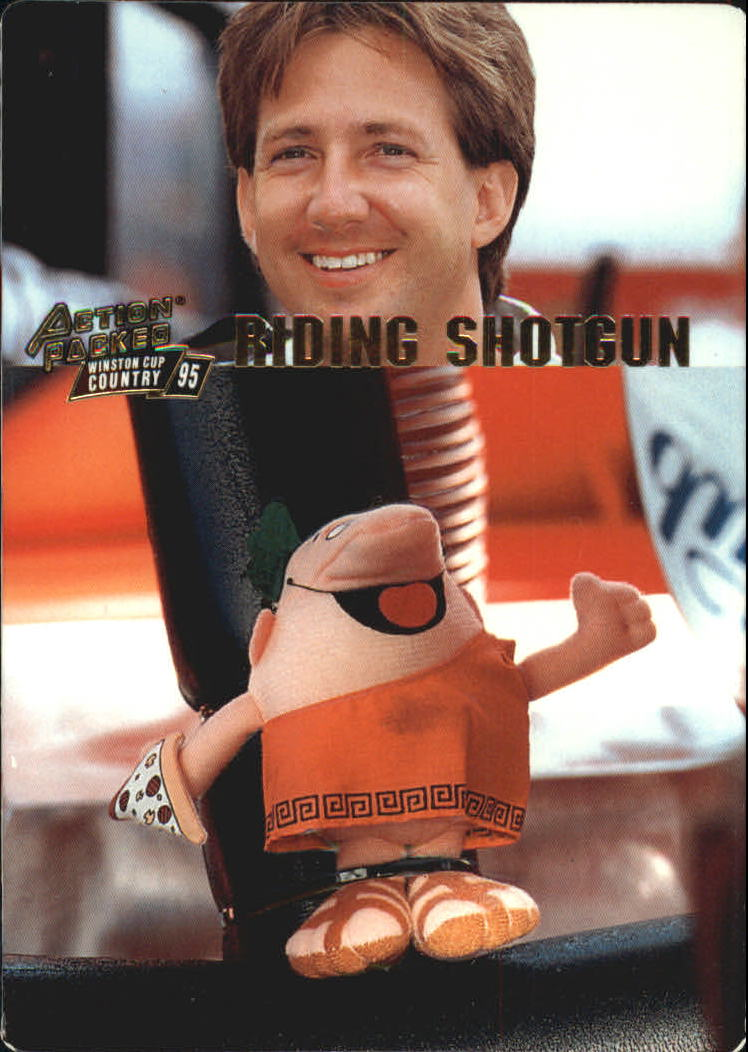 1995 Action Packed Country #8 John Andretti RS