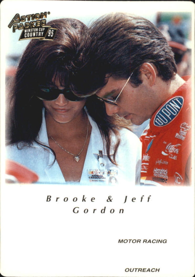 1995 Action Packed Country #22 J.Gordon/Brooke MRO