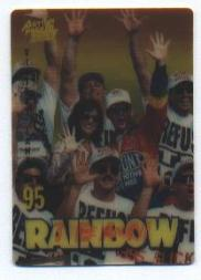 1995 Action Packed Country Team Rainbow #3 Jeff Gordon w/Crew
