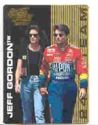1995 Action Packed Country 24K Team #3 Jeff Gordon