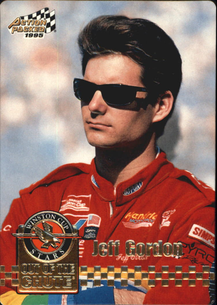 1995 Action Packed Stars #24 Jeff Gordon OC
