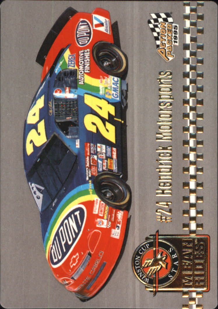 1995 Action Packed Stars #40 Jeff Gordon's Car