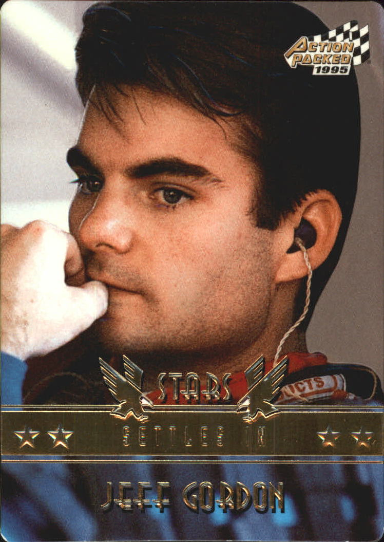 1995 Action Packed Stars #60 Jeff Gordon PP