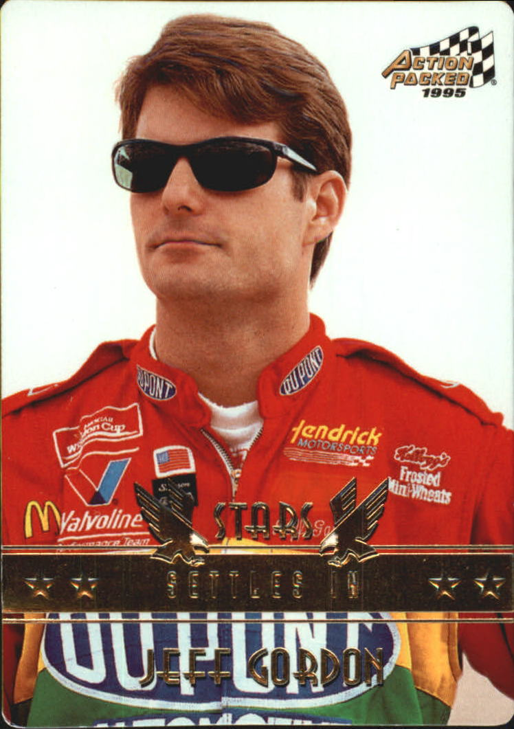 1995 Action Packed Stars #65 Jeff Gordon PP