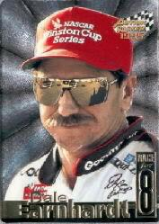 1995 Action Packed Stars Dale Earnhardt Race for Eight #DE2 Dale Earnhardt