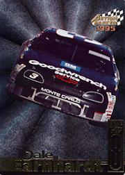 1995 Action Packed Stars Dale Earnhardt Race for Eight #DE8 Dale Earnhardt's Car