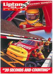1995 Lipton Tea Johnny Benson Jr. #NNO Johnny Benson Jr. in Pits