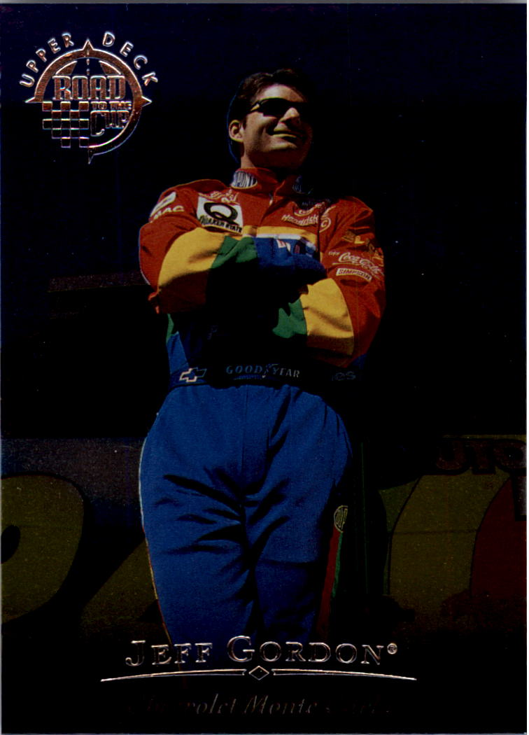1996 Upper Deck Road To The Cup #RC1 Jeff Gordon