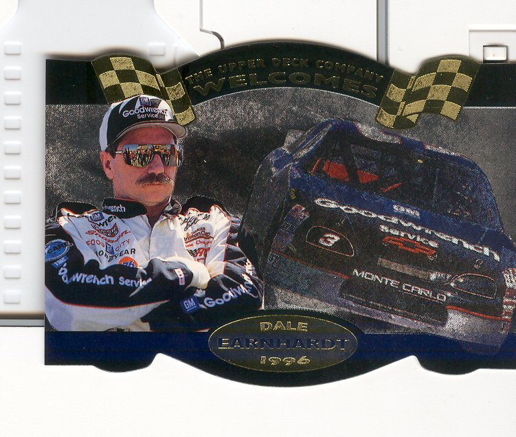 1996 Upper Deck Road To The Cup #DE1 Dale Earnhardt
