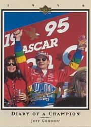 1996 Upper Deck Road To The Cup Diary of a Champion #DC1 Jeff Gordon