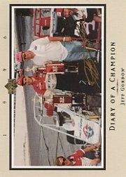 1996 Upper Deck Road To The Cup Diary of a Champion #DC4 Jeff Gordon