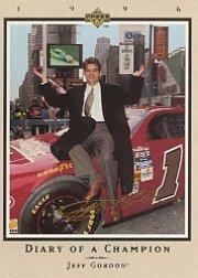 1996 Upper Deck Road To The Cup Diary of a Champion #DC8 Jeff Gordon