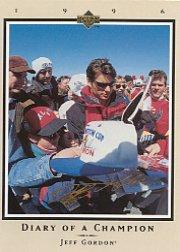1996 Upper Deck Road To The Cup Diary of a Champion #DC9 Jeff Gordon