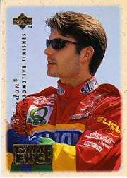 1996 Upper Deck Road To The Cup Game Face #GF1 Jeff Gordon
