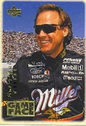 1996 Upper Deck Road To The Cup Game Face #GF2 Rusty Wallace