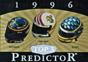 1996 Upper Deck Road To The Cup Predictor Top 3 #T10 R.Wallace/T.Lab./K.Petty