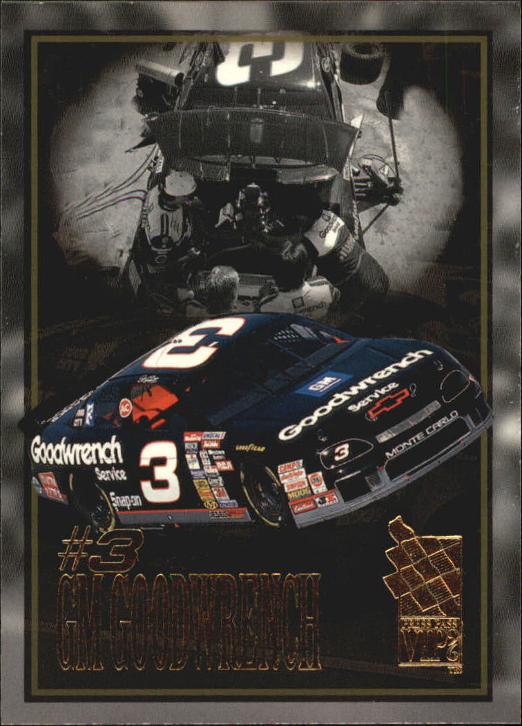 1996 VIP #38 Dale Earnhardt's Car