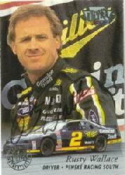1996 Ultra Autographs #36 Rusty Wallace