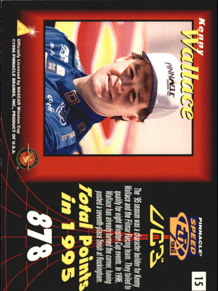 Buy 10 You Pick cards FREE SHIP 1996 Speedflix Racing Cards