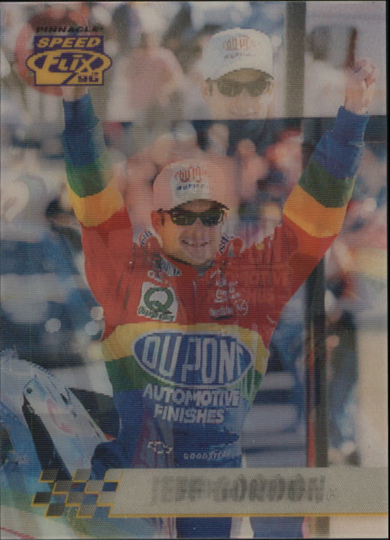 1996 Speedflix #16 Jeff Gordon