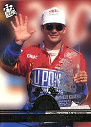 1996 Press Pass Checkered Flags #CF1 Jeff Gordon
