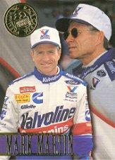 1996 Press Pass Premium #4 Mark Martin